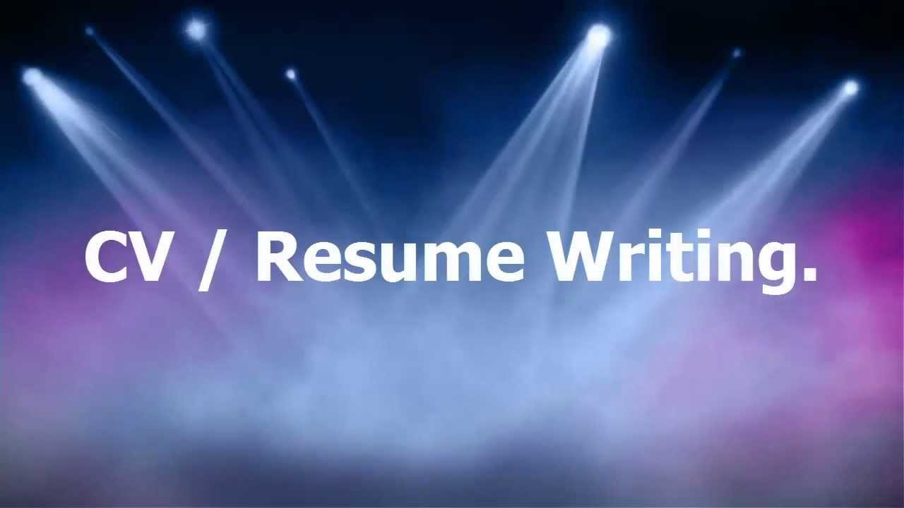 How to Resume Writing Plays An Important Role