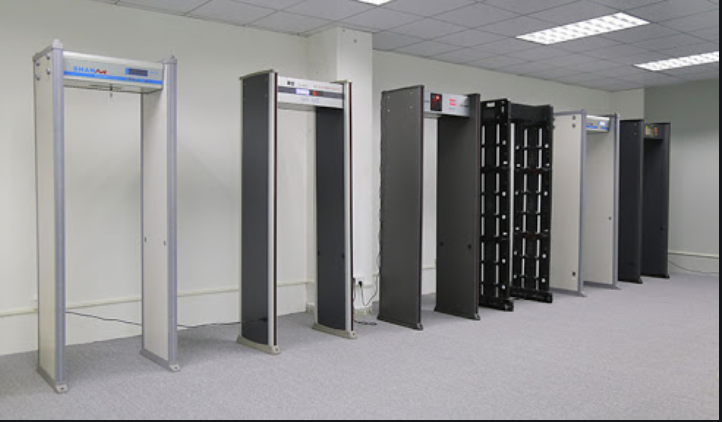 The walk through metal detector ensures the most effective security in cases such as shoplifting