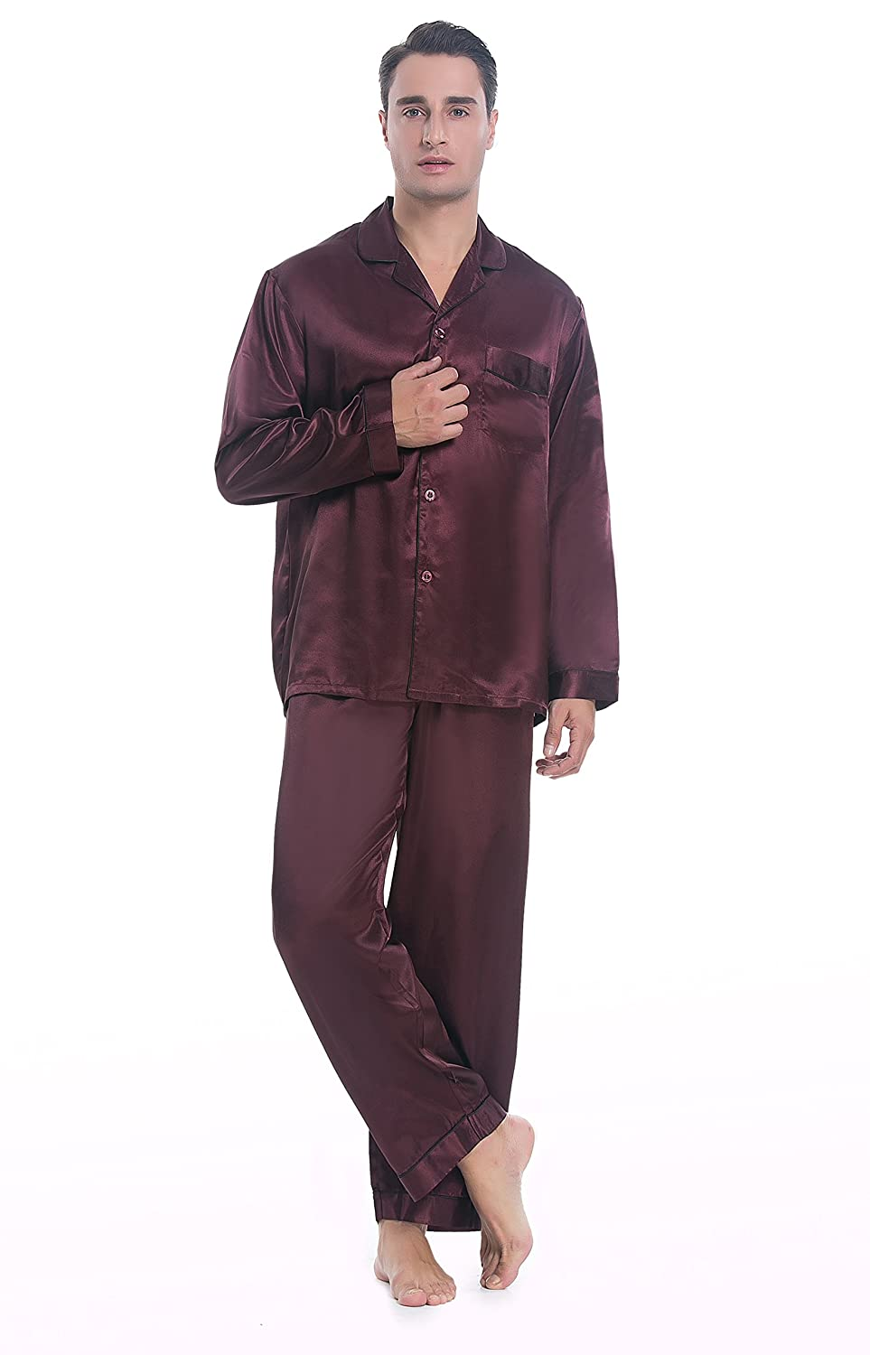 Understand Everything About Men's Silk Pajamas