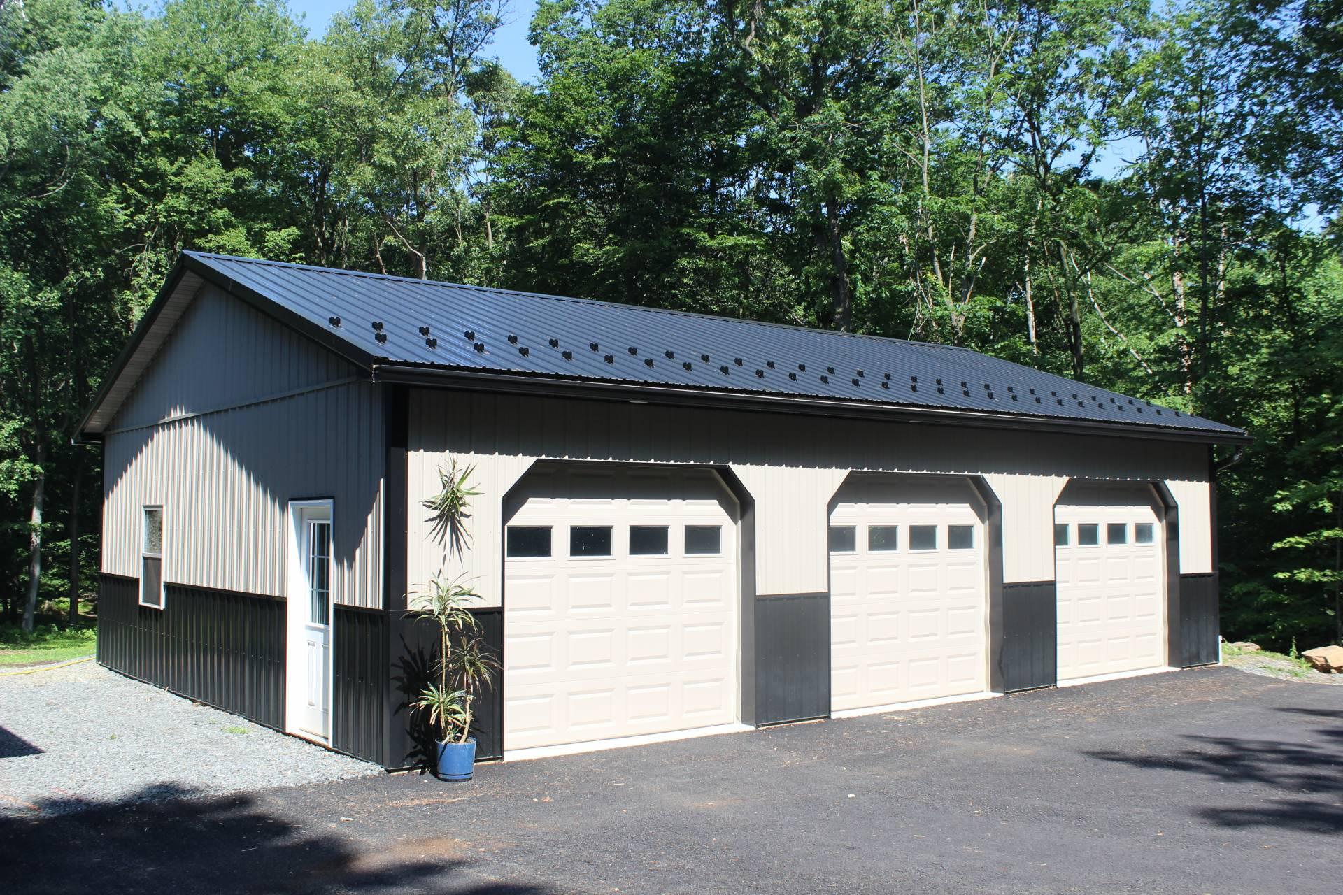 The Metal Buildings need maintenance