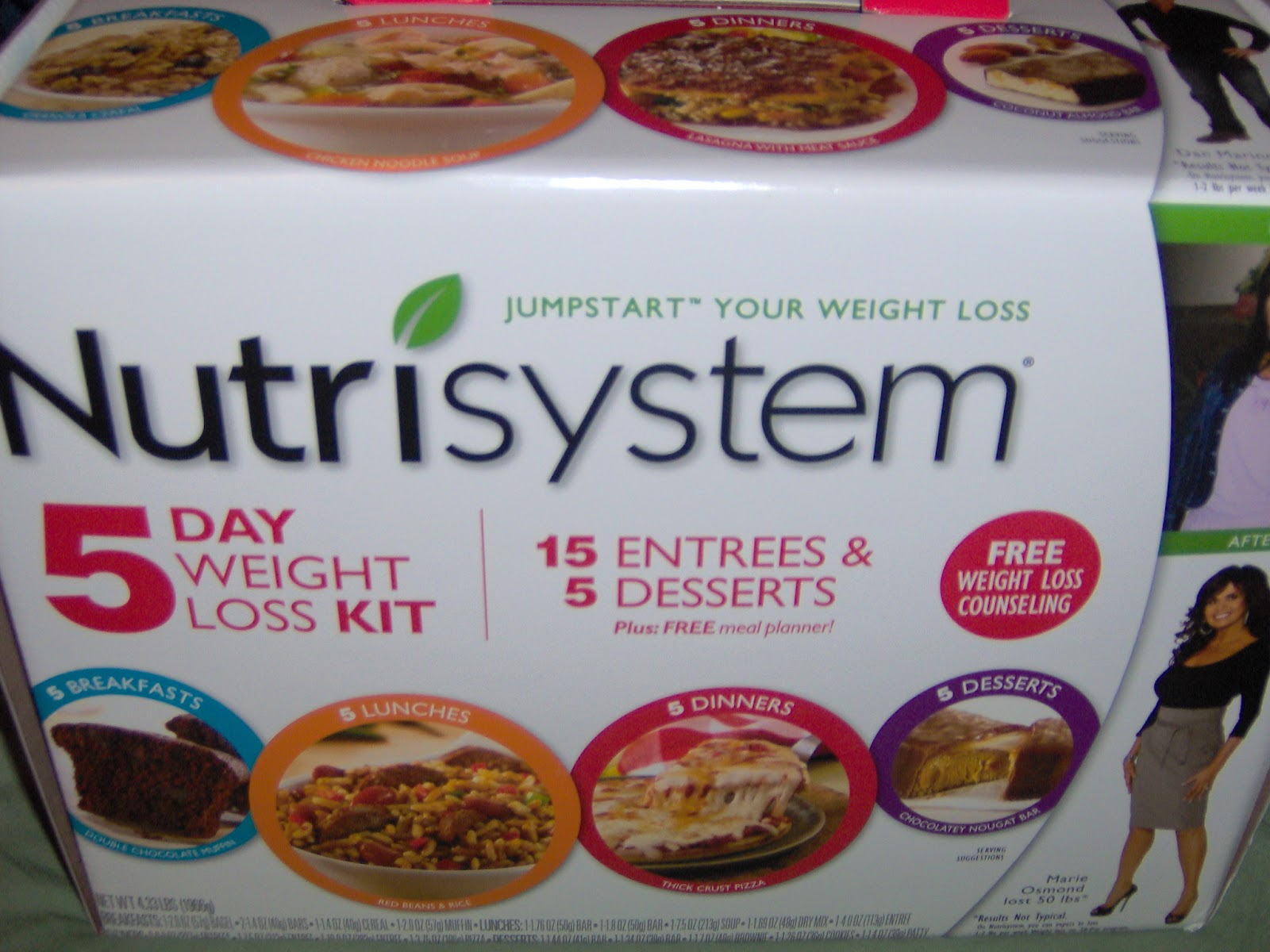 The ideal Nutrisystem for women plan to lose weight and have a break from the kitchen